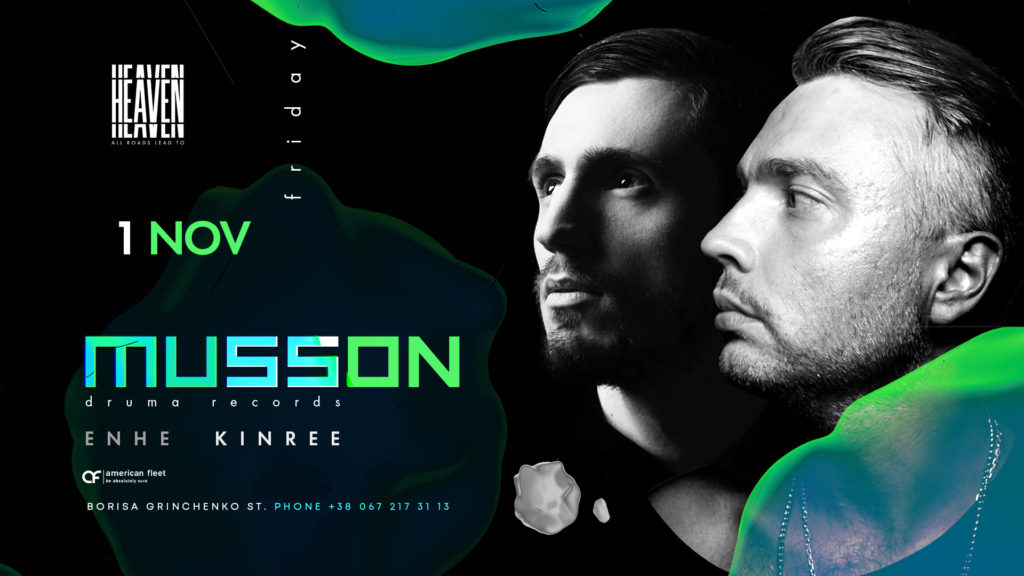 Friday at Heaven Club | Musson