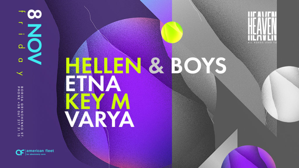 Friday at Heaven Club | Hellen & Boys