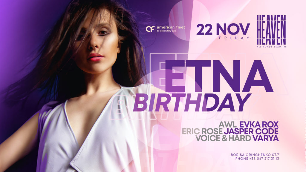 Etna Birthday