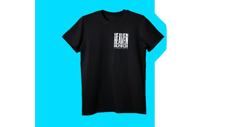 "Black T-shirt ""Ой, все"""