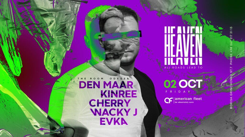 Friday at Heaven Club / Den Maar