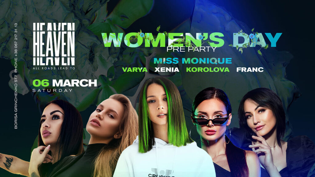 Saturday at Heaven Club | Women's Day Pre Party