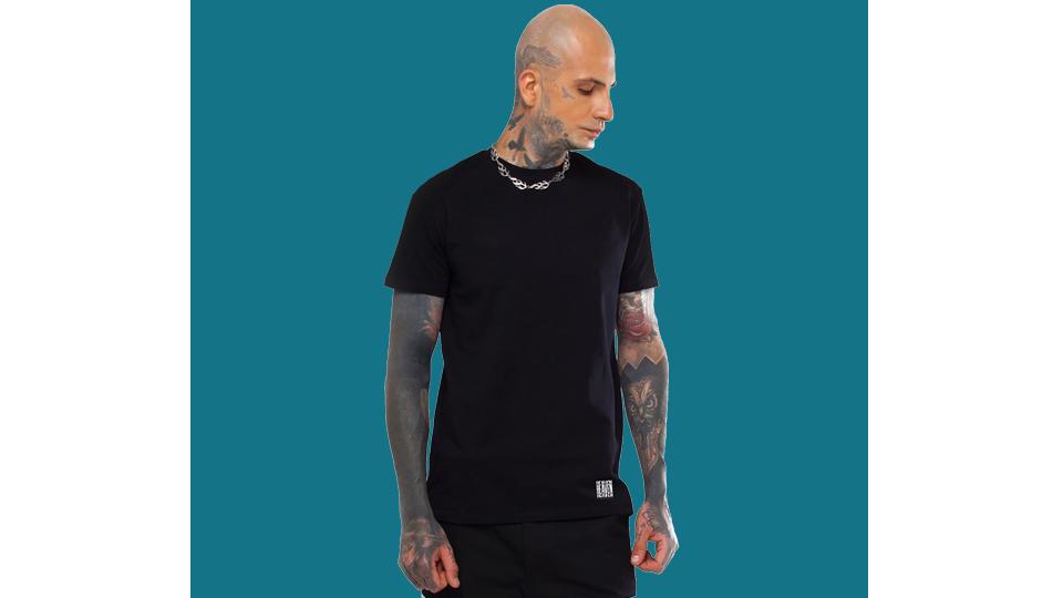 Чорна футболка «ANGEL»