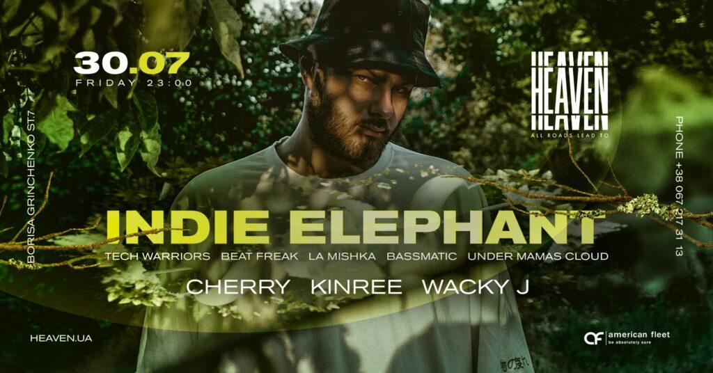 Friday at Heaven Club | Indie Elephant, Cherry, Kinree, Wacky J