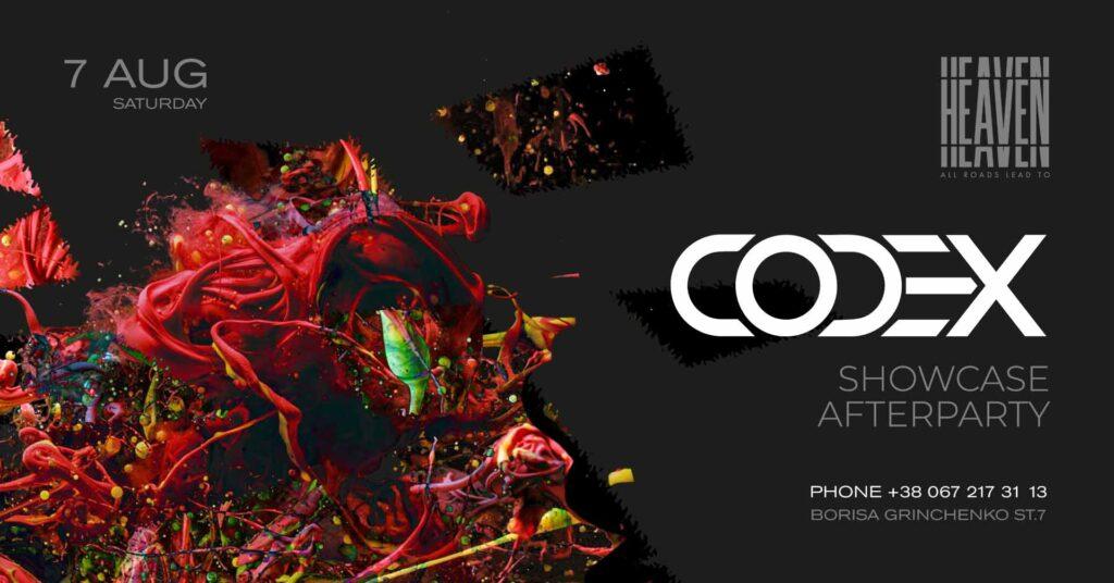 Saturday at Heaven Club | Afterparty CODEX SHOWCASE