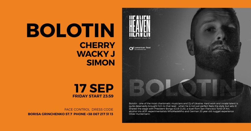 FRIDAY AT HEAVEN | BOLOTIN